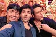 Team Pyaar Ka Punchnama on Comedy Nights Bachao