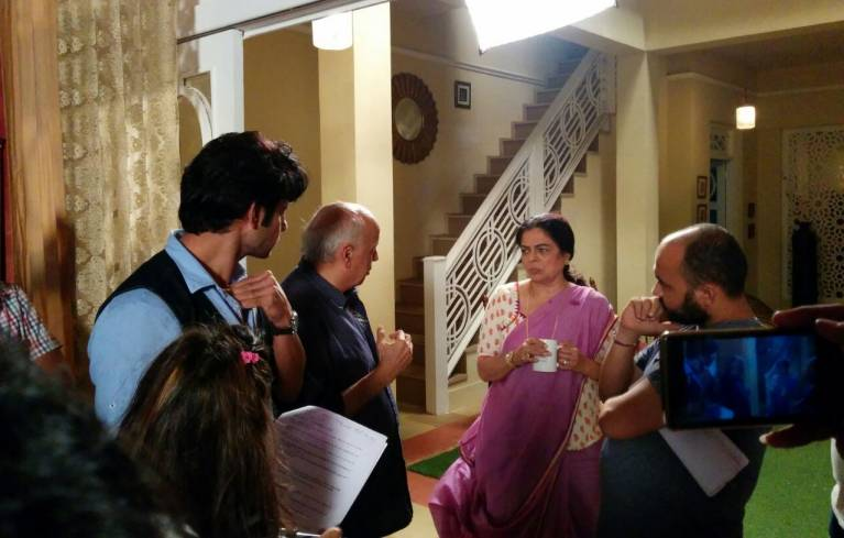 When Producer Mahesh Bhatt decided to personally direct a scene for Naamkarann…