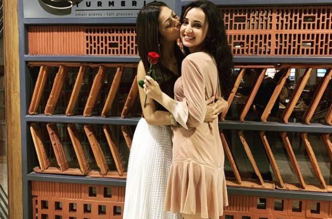 This is how Drashti Dhami and Sanaya Irani celebrated Valentine's Day with their better halves