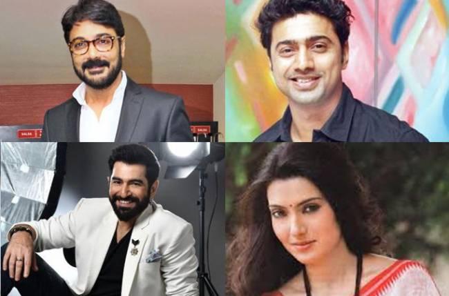 Prosenjit, Jeet, Arpita, and Dev wish everyone Shubho Bijoya