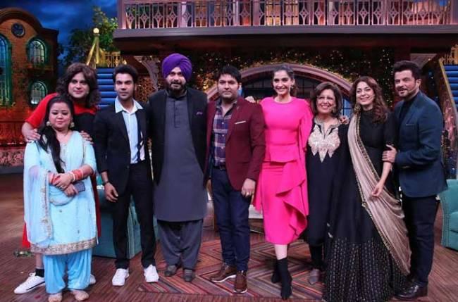 Anil Kapoor apologizes to Sonam Kapoor on The Kapil Sharma Show