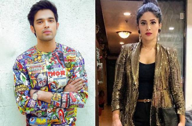 Parth Samthaan's off-screen fun with his on-screen mother Shubhaavi Choksey