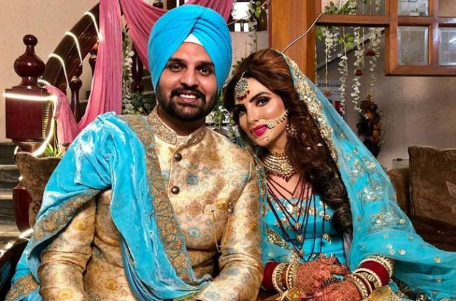 Mansi Sharma ties the knot with Yuvraj Hans in a Punjabi wedding; check out photos