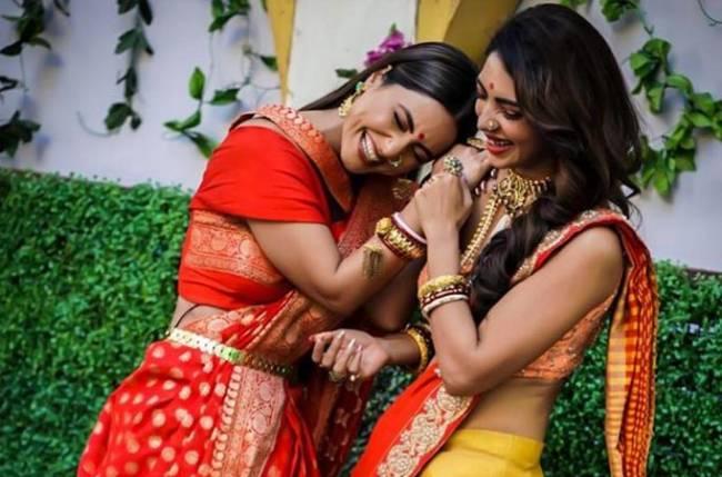 Must Check: Kasautii Zindagii Kay actresses Hina Khan and Pooja Banerjee's fun BTS picture