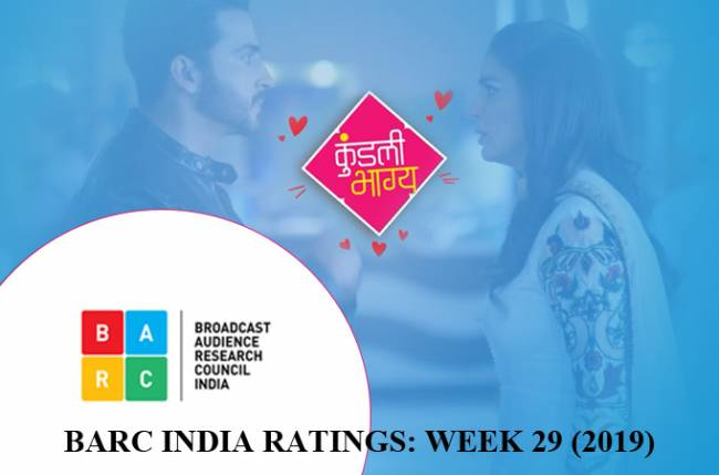 BARC India Ratings: All top 10 shows maintain same positions on the charts; Kundali Bhagya is numero uno!